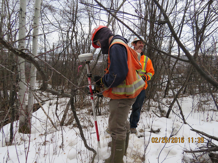 Civil Survey and Field Work on Site