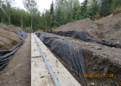 Hat Lake  Mainline Road Construction