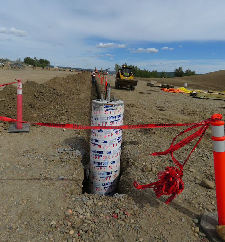 Site C Waterline Installation Project