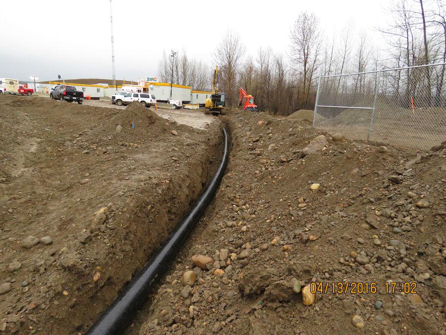 Site C Waterline Project   Peace River Projects in Vanderhoof
