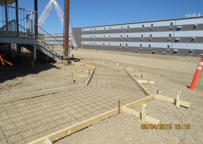 Site C Waterline Installation