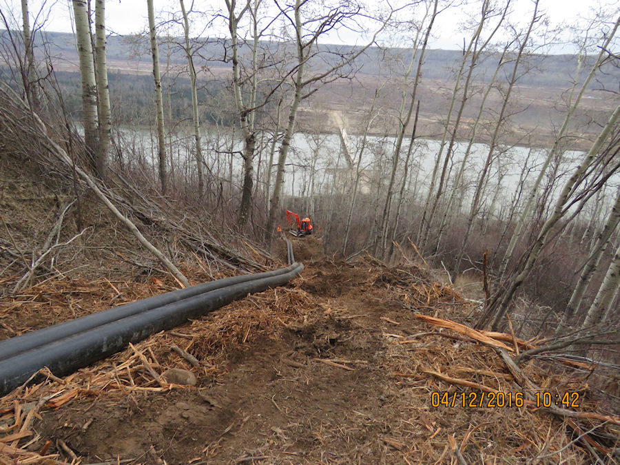 Site C Waterlines